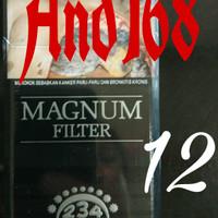 Dji Sam Soe Magnum Filter 12 Ji Sam Su black hitam Djisamsoe Jisamsu