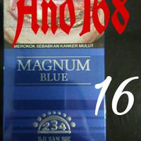 Dji Sam Soe Magnum Blue 16 Djisamsoe Ji sam su jisamsu biru 16 batang