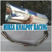 Knalpot Racing Levince Salmon Fullsystem Yamaha JupiterMX Old / New / King