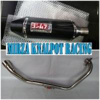 Knalpot Racing Yoshimura USA Fullsystem Yamaha Jupiter MX Old / New / King
