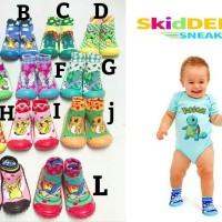 Jual ORIGINAL Skidders Sneakers Pokemon Edition - Sepatu bayi - Sepatu anak Murah