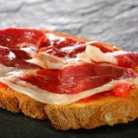 Whole Jamon Serrano Cured Spanish Ham Daging Ham Kering Import Spanyol