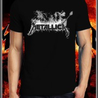 Metallica Band 2 baju Kaos Gildan | Print | Bordir | Custom Design