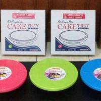 Cake Tray Meja Putar Maspion/ Lazy Susan/ Baki Kue/ Nampan Cake