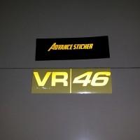 (stiker) sticker motor VR 46 logo