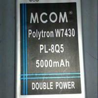 Batre Baterai Politron Polytron Quadra W7430 W 7430 PL8Q5 PL-8Q5