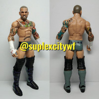 CM PUNK ACTION FIGURE MATTEL WWE ELITE WRESTLEMANIA29 LOOSE MAINAN TOY