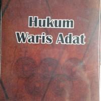 Buku Hukum Waris Adat