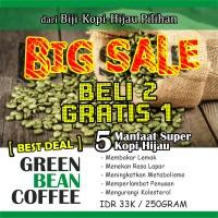 Jual Kopi Hijau / Green Bean Coffee ( Natural Fat Burner ) Murah