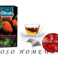 Teh Dilmah No Envelope 20 sachet Strawberry Dilmah Tea