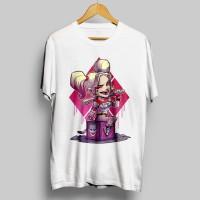 Jual Kaos Superhero _ Chibi / Kaos HARLEY QUINN Murah