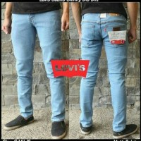Jual Celana Jeans Skinny / Slimfit Levis Biru Muda Murah