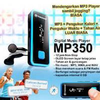 Transcend MP3 350 sport/anti shock garansi resmi 1 tahun