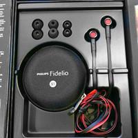 Earphone Philips Fidelio S1 with Mic(bisa telf) garansi resmi