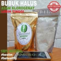 Jual Kopi Hijau Diet Langsing Slimming Green Bean Coffee BUBUK HALUS 250gr Murah