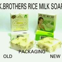 Jual Sabun Susu beras Kbrother rice milk Thailand Murah