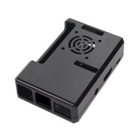 Jual Case Box Black ABS Raspberry Pi 3 Model B Terdapat Lubang fan Murah