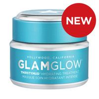Jual [10 gram in jar] GLAMGLOW BIRU- ThirstyMud Hydrating Treatment ( Grosi Murah
