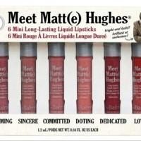 Jual Meet Matte Hughes The Balm lip kit / liquid lipstick Murah