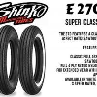 Ban shinko e270 classic size 450-18