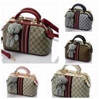 Tas wanita Doctor Bag in Gucci monogram | Tas import | Tas fashion