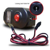 harga charger aki motor / tc accu gojek + PORT USB Tokopedia.com