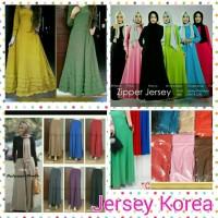Rok Jersey Korea ,Rok Muslimah,pakaian wanita