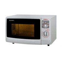 Sharp R-222Y(W) Microwave Oven - Putih [Low Watt]