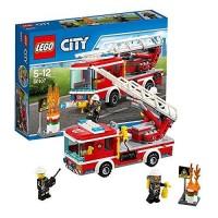 LEGO City - 60107 Fire Ladder Truck Set Firefighter Police Car ATV Toy