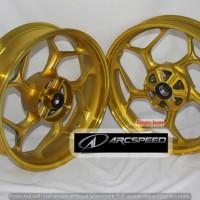 harga Velg Axio Singledisc NVA / NVL/ R15 3 x 4,5inch Gold Tokopedia.com