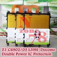 BATERAI SONY XPERIA Z1 C6902 C6903 L39H DOUBLE POWER PROTECTION