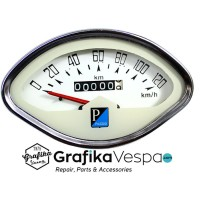 harga Speedometer Oval / kerang Vespa Super Sprint Tahun 65 - 75 Tokopedia.com