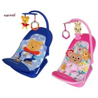 JBS ECO Sugar Baby Infant Seat Bouncer - I love Bear / Pink Rabbit