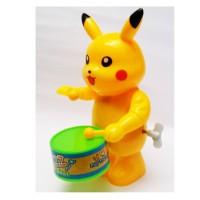 Pokemon Pikacu Drummer / Ngedram & Goyang Otomatis Tanpa Baterai