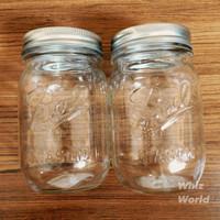 BEST PRICE Ball Mason 1 Pint 16 Oz 473 ml Glass Jar Toples Kaca