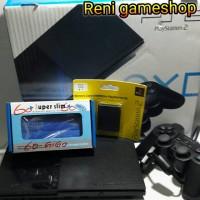 PS2 slim seri.9+ hdd xternal 60gb full game