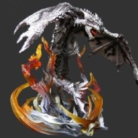 ORIGINAL D.M.A Monster Hunter Silver Rathalos Limited, NEW & VERY RARE