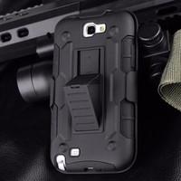 Samsung Galaxy Note 2 N7100 Future Armor Kickstand Case Otterbox Ipaky