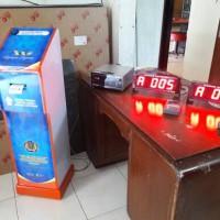 Mesin Antrian Kantor Pajak dg 2 Display klien