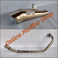 Knalpot Leo Vince Cobra Titan For CB150R / CBR150R / MegaPro / Tiger / Verza