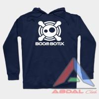 Hoodie -Sweater BoomBotiX -Navy -Front Logo