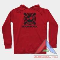 Hoodie -Sweater BoomBotiX -Red -Front Logo