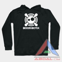 Hoodie -Sweater BoomBotiX -Black -Front Logo