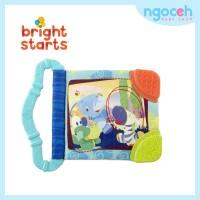 Gigitan Bayi / Teether Soft Book Bright Starts Teethe & Read Biru