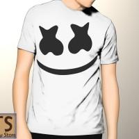 Kaos Putih DJ Marshmallow Tismy Store