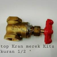 Stop Kran merek Kitz Ukuran 1/2