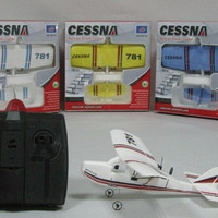 Cessna TW-781 Micro MINI Infrared Easy Control Indoor RC EPO Gilder Ba