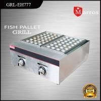 Mesin Pembuat Takoyaki Fish Pallet Grill Fomac grl-eh777