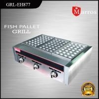 Alat Pembuat Takoyaki Fish Pallet Grill Fomac grl-eh877