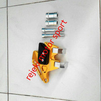 EXCLUSIVE Tutup / Pelindung Kaliper Depan VIXION, NMAX, R15 (GOLD) MURAH